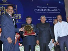Digital India Award 2016 (Platinum Icon)