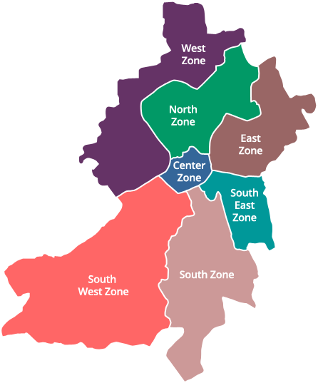 Zones About Smc My Surat Surat Municipal Corporation